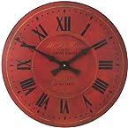 Roger Lascelles Moore Wall Clock, 14.2-Inch