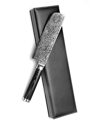 Mape Hackbeil Nakiri Damaszener, Klinge 18 cm