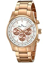 Lucien Piccard Men's LP-12729-RG-22S Camelot Analog Display Japanese Quartz Rose Gold Watch