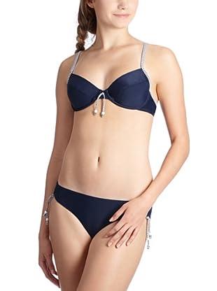 ESPRIT Bodywear Damen Bikini, Z3923/PONTO BEACH (Blau (DG))