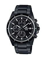 Casio Edifice Analog Black Dial Men's Watch - EFR-526BK-1A1VUDF (EX206)
