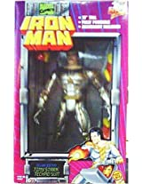 10 Deluxe Edition Tony Stark Techno Suit Iron Man Action Figure - 1995 Marvel Comics Deluxe Edition Action Figure