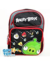 "16"" Angry Birds Backpack Tote Bag School"