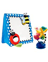 Sassy Floor Mirror With Illumination Station Activity Toy