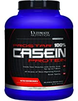Ultimate Nutrition Prostar Casein 5lbs-Strawberry (Prostar Casein 2.27kg)