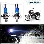 Speedwav Xenon H4 CYT Pure White Bulbs For Yamaha Crux