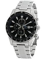 Casio Edifice Chronograph Black Dial Men's Watch - EF-547D-1A1VDF (ED389)