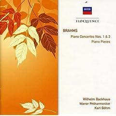 輸入盤 バックハウス&ベーム ブラームス:ピアノ協奏曲第1番&第2番、ピアノ小品集のAmazonの商品頁を開く
