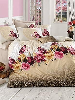 Colors Couture Bettdecke und Kissenbezug Cali