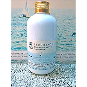 AVA BLUE BEACH BODY MILK- SPF 15 - NO PARABENS