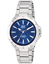 Q&Q Regular Analog Blue Dial Men's Watch - Q964J212Y