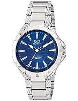 Q&Q Regular Analog Blue Dial Men's Watch - Q964J212Y