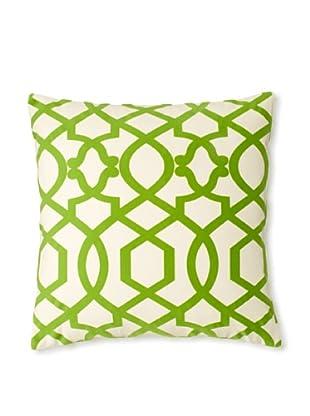 The Pillow Collection Maeret Moorish Decorative Pillow, Kiwi, 18