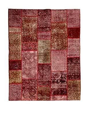 RugSense Teppich Vintage Persian Collage rosa/braun/rot 207 x 151 cm