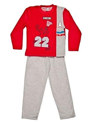 Tobogán Pijama Niño Basket 22 (Rojo)