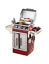 Little Tikes BBQ Backyard Get Out and Grill, Multi Color