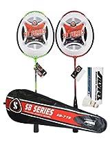 Silver SB 719 Badminton Combo (2 Pieces)
