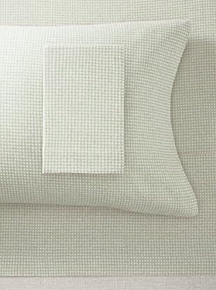La Rochelle Tan Flannel Gingham Sheet Set (Tan)