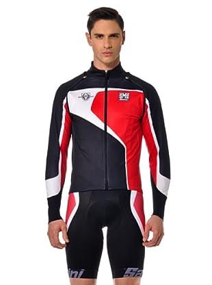Santini Jacke (Schwarz/Weiß/Rot)