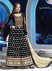 Preetika Rao Embroidery Black Floor Touch Anarkali Suit