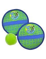 Aqua Leisure Teenage Mutant Ninja Turtles Stick-N-Rip Catch Game with Sponge Ball (2015)