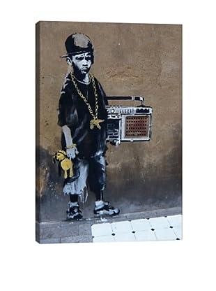Banksy Bboy Giclée On Canvas