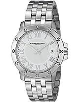 Raymond Weil Mens 5599-ST-00308 Tango Analog Display Swiss Quartz Silver Watch