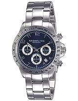 Stuhrling Original Monaco Concorso Analog Blue Dial Men's Watch - 665B.02