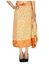 Rajrang Women Long Skirt Art Silk Wrap Around