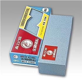 【クリックで詳細表示】赤エビ印 金剛砥石 GC角 三丁掛 刃物用 細目 HK-0360: DIY・工具