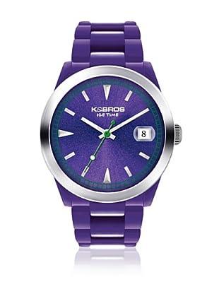 K&BROS Reloj 9541 (Violeta)