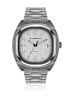 K&BROS Reloj 9452 (Plateado)