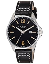 Esprit Analog Black Dial Men's Watch - ES106911004