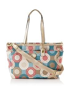 Coach Signature Snaphead Print Baby Bag, Multi