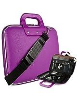 """SumacLife Violet Reinforced Travel Cady Shoulder Bag fits Visual Land : Premier ( 10 , 9 ), Prestige Prime 10ES , Prestie Elite 10QS 10QL , 10.1"""" Tablets"""