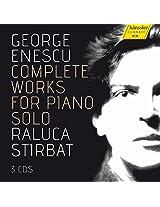 Enescu:Complete Solo Piano [Raluca Stirbat] [HANSSLER CLASSIC: 98.060]