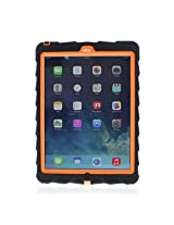Gumdrop Cases Drop Tech Rugged Case for Apple iPad Air (Black-Orange)