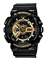 Casio G339 Polished Black Strap G-Shock Watch