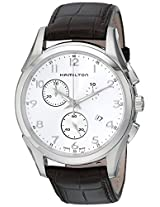 Hamilton Men's H38612553 Jazzmaster Silver Dial Watch
