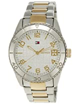 Tommy Hilfiger Analog White Dial Women's Watch - TH1781146/D