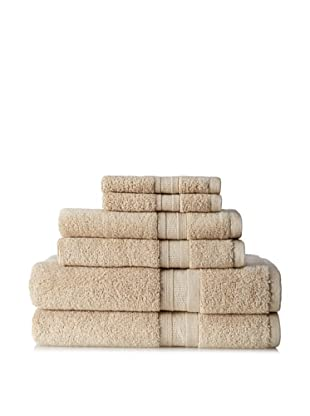 Terrisol MicroCotton Aertex 6-Piece Towel Set, Linen