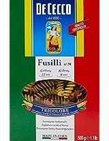 De Cecco Fusilli Tricolore No 34, 500g