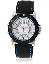 30010Ppgi Black/White Analog Watch