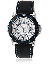 30010Ppgi Black/White Analog Watch