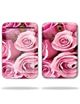 Protective Skin Decal Cover for Samsung Galaxy Note 8.0 Tablet with 8 screen Sticker Skins Pink Roses