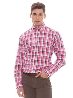 Gant Camisa Cuadros (Rosa)