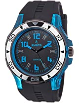 Aveiro Analog Black Dial Men's Watch - AV73BLKBLU