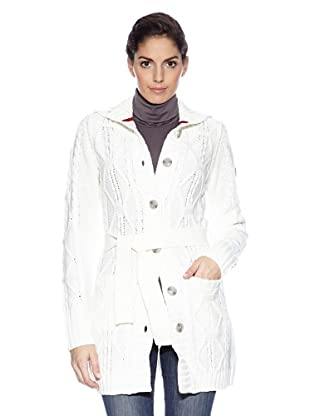 Northland Professional Cardigan Macy Knit Coat (Bianco)