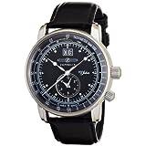 [ツェッペリン]ZEPPELIN 腕時計 SpecialEdition100YearsZeppelin ブラック 76402 メンズ 【正規輸入品】