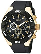 Invicta Men's 21402 Specialty Analog Display Swiss Quartz Black Watch